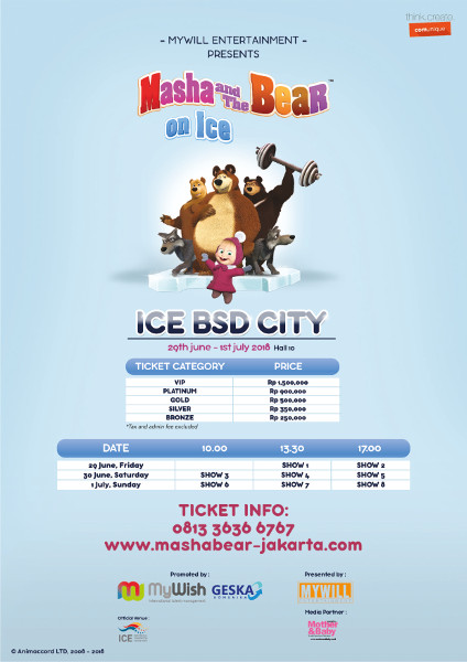 Masha and The Bear On Ice