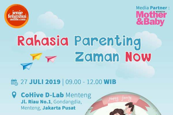 Rahasia Parenting Zaman Now: read it and you will know all about Rahasia Parenting Zaman Now for moms, the most interesting about Rahasia Parenting Zaman Now on a site motherandbaby.co.id