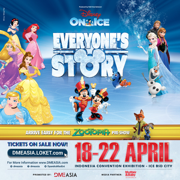 Disney On Ice: Everyone's Story