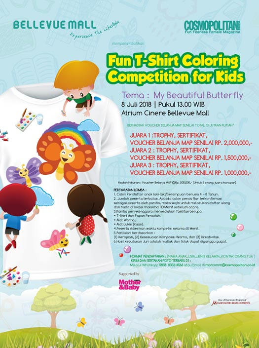 Fun T-Shirt Coloring Competition for Kids