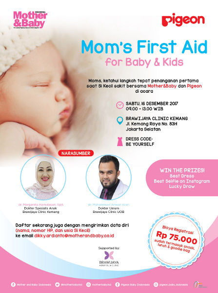 M&B Club with Pigeon: Mom's First Aid for Baby & Kids